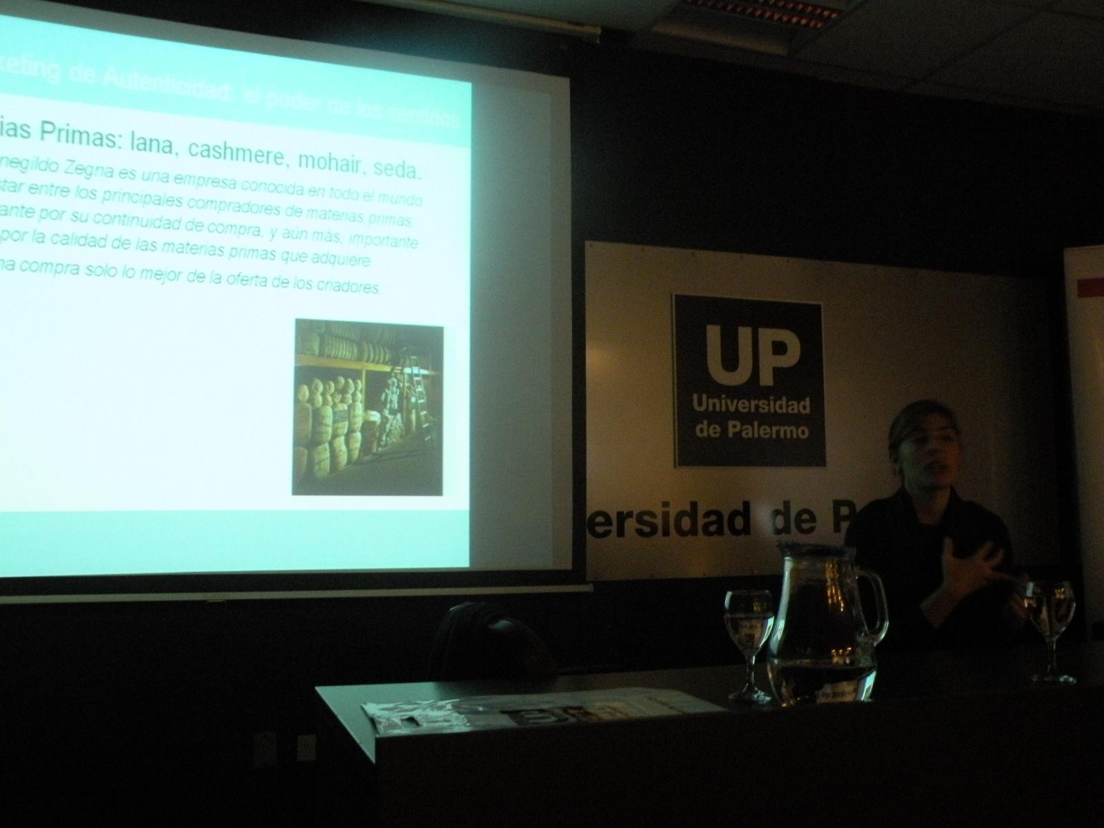 Presentación en el auditorio de la UP