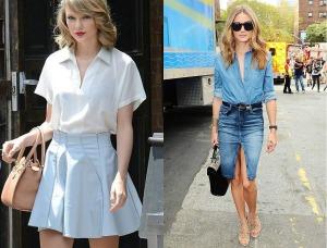 famosas-con-faldas-de-jean-Fashionclick